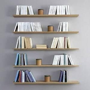 Bibliothèque Murale Design : design de votre biblioth que murale la manufacture nouvelle ~ Teatrodelosmanantiales.com Idées de Décoration
