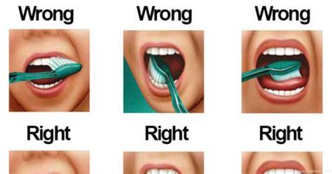 show    brush  teeth