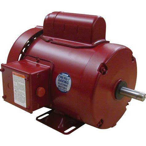 1 2 Electric Motor by Leeson Farm Duty Electric Motor 1 2 Hp 1 725 Rpm 115
