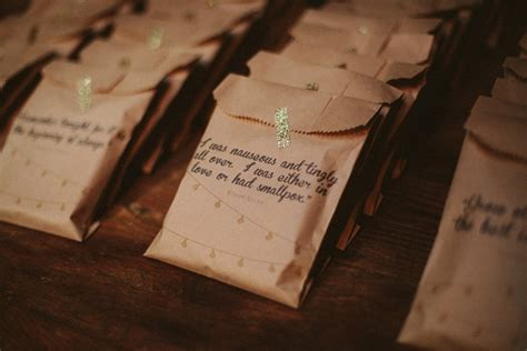 wedding stationery inspiration treat bags