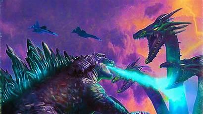 Godzilla Monsters King Poster Wallpapers 4k 1440p
