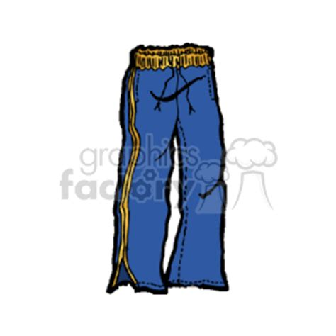 clip art clothing pants   related vector