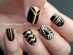 Paulina s passions dc day black and gold stripes