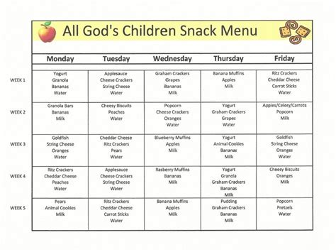 childcare lunch menu search meals for the day 996 | ded3281f883c07aaa47d0301c023a457