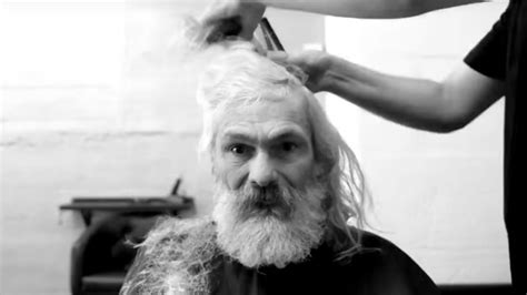 Homeless man gets a makeover that changes his life – All ...