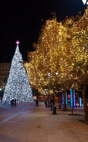 christmas lights in athens greece by patrick dh on