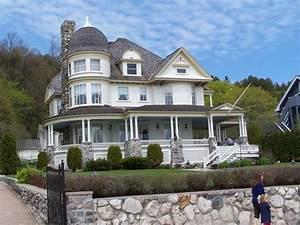 Bilder Schöne Häuser : bild sch ne h user auf mackinac island zu mackinac ~ Lizthompson.info Haus und Dekorationen