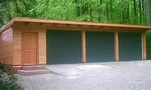 Holzhalle Selber Bauen : holzgarage holzgaragen als individueller bausatz ~ Lizthompson.info Haus und Dekorationen