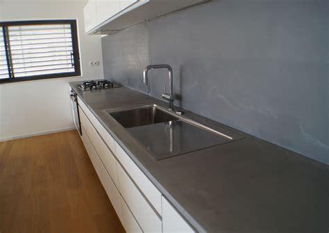 béton ciré cuisine plan de travail beton cire 28 images decoration plan