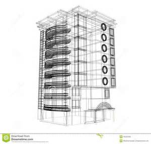 building plan 3d building plan royalty free stock images image 18537309