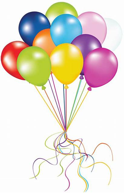 Balloons Transparent Balloon Clip Birthday Happy Fun