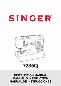 Singer 7285q Patchwork Instruction Manual User Manual