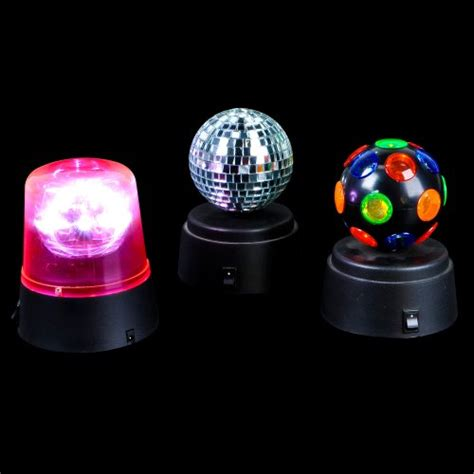 battery operated party lights disco lights for home set of 3 small battery operated