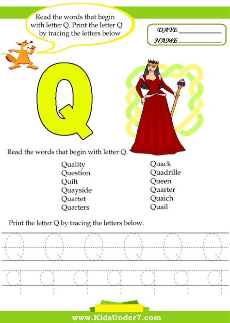 words with letter q 엄마표 유아영어 알파벳 따라쓰기 알파벳 활동자료 알파벳 q 네이버 블로그 25758 | Letter Q1
