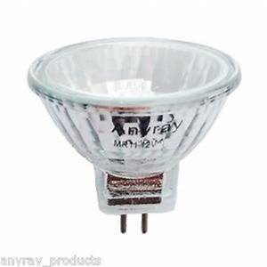 anyray a2001y 1 bulb mr11 12v 8 watts flood halogen With 12v 8w garden light bulb
