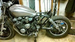 1983 Honda Nighthawk Custom Bobber Project