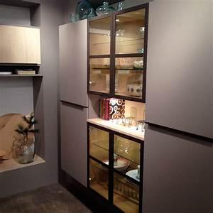 showroom mobalpa meubles cuisine vitrine With deco cuisine pour meuble vitrine