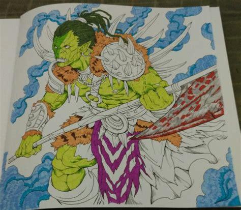 Coloring With Spidol by Mewarnai Dengan Koi Coloring Brush Pen Goresan Absurd