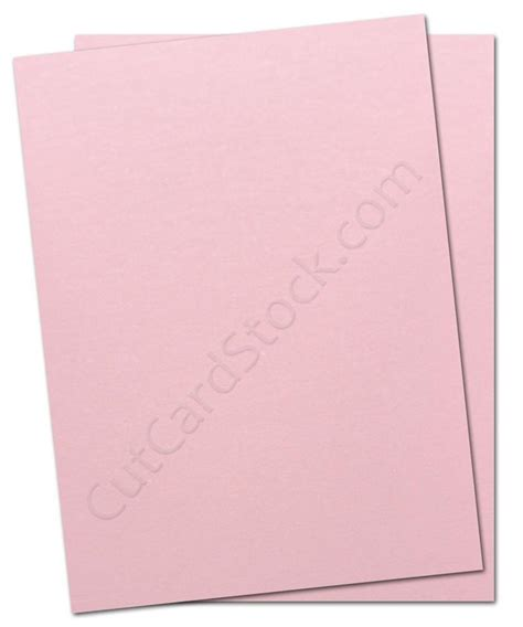 shimmery pink cardstock for diy wedding invites and baby announcements cutcardstock