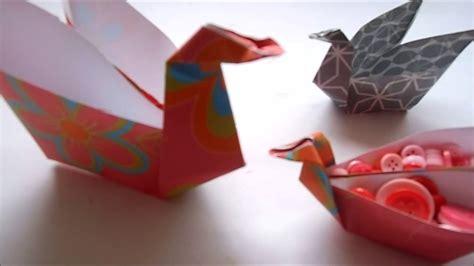 origami zwaanpasen youtube