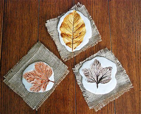 plaster leaf prints fun family crafts