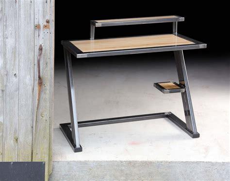 mobilier bureau maison mobilier bois metal table bois m tal design industriel