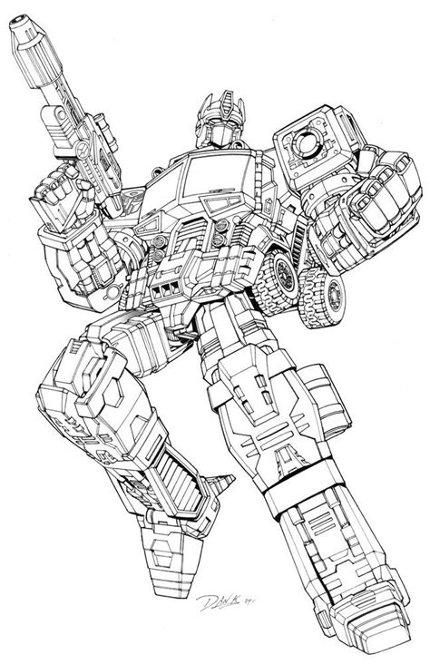 printable transformers coloring pages  kids arts