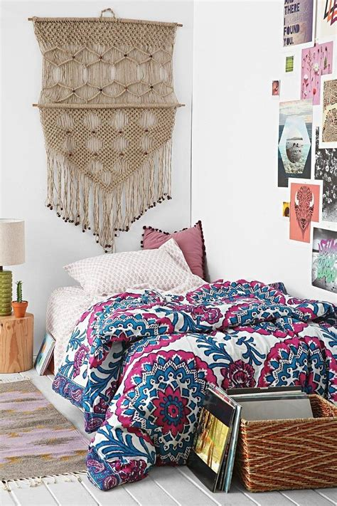 Boho Bedding Xl by Magical Thinking Wood Block Medallion Comforter Snooze Set