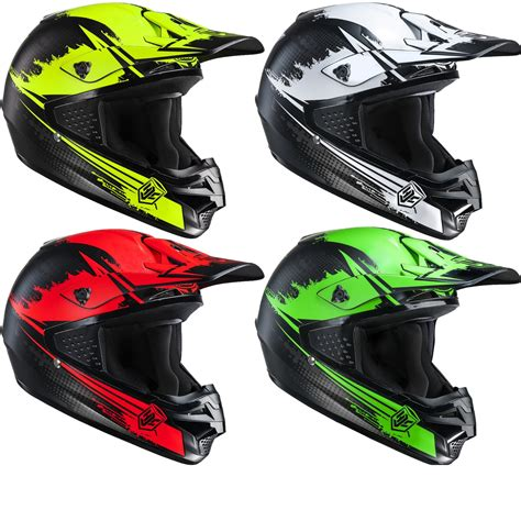 Hjc Cs Mx Zealot Motocross Helmet Open Face Helmets