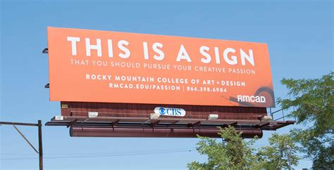 rmcad launches    sign billboard campaign rmcad