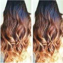 Brown Hair Color Fade