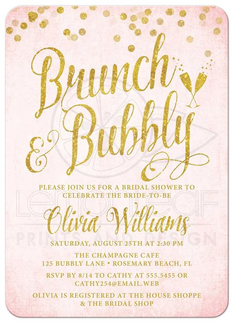 brunch invitation template bridal shower invitations bridal brunch shower invitations new invitation cards new