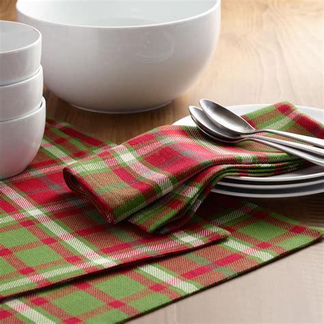 world market table linens signature plaid table linen collection world market