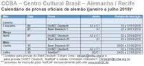 CCBA Centro Cultural Brasil Alemanha Curso de Alemão