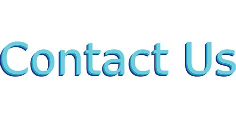 Free Vector Graphic Contact Us, Blue, Button Style Free