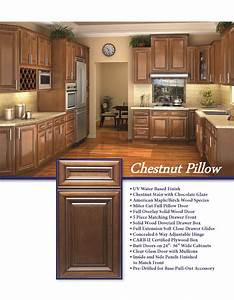 chestnut pillow viviano inc With kitchen colors with white cabinets with security system stickers