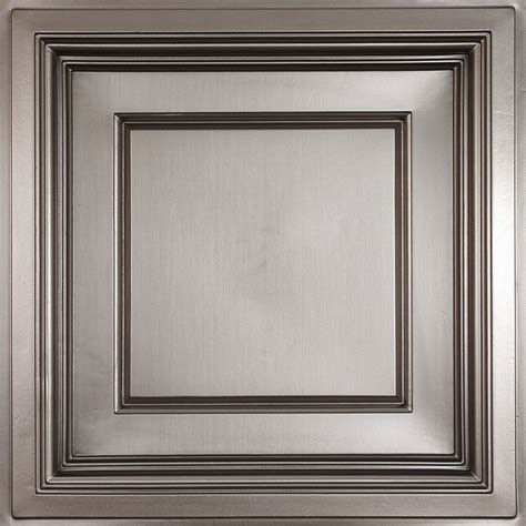 tin ceiling tiles home depot canada ceilume faux tin coffered ceiling tile 2 x 2