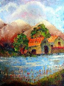 Shades Of Indian Village Painting by Tanya Anurag