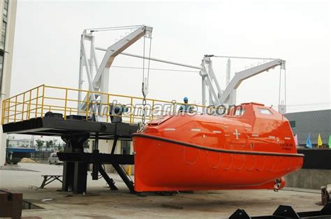 Boat Davit Manufacturers by Gravity Luffing Arm Type Davit Buy Lifeboat Davit From