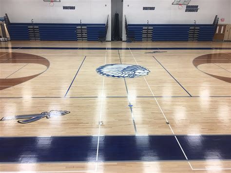 Rockford High School Gym Makeover   General Finishes