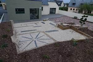 gravier stabilise ameline arbora With terrasse en gravier stabilise