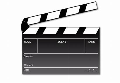 Board Clapper Director Sign Film Production Clipart