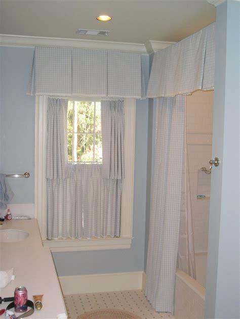 Bathroom Window Curtain Valance by 25 Best Ideas About Shower Curtain Valances On