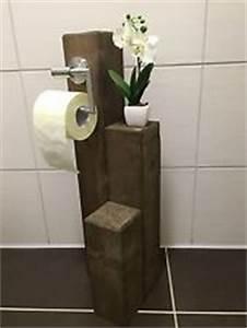 Wc Rollenhalter Stehend : toilettenpapierhalter holz ebay ~ Whattoseeinmadrid.com Haus und Dekorationen