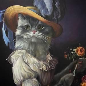 Address Cards Templates Cat Portrait Antoinette Splendid Beast