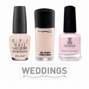 10 bridal pink nail polishes to wear on your wedding day for Wedding dress nail polish