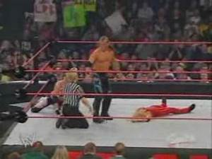 Armageddon 2003 - Lita and Trish Stratus vs. Christian and ...