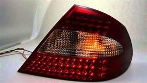 Clk W209 Tuning : led r ckleuchte mercedes clk w209 red clear sw tuning ~ Jslefanu.com Haus und Dekorationen