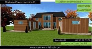 plan et photo de maisons avec combles amenages ou With maison toit plat bois 4 isolation pare vapeur et gazon notre maison ossature bois