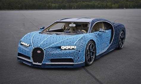 When we say with lego technic you can build for real, we really mean it! This life-size LEGO Technic Bugatti Chiron is drivable too - Autodevot